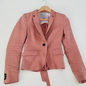 H&M peach / pink blazer